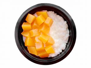 Каша рисовая с персиком
